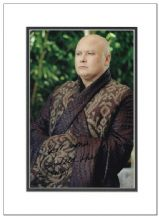 Conleth Hill Autograph Signed Photo - Game of Thrones